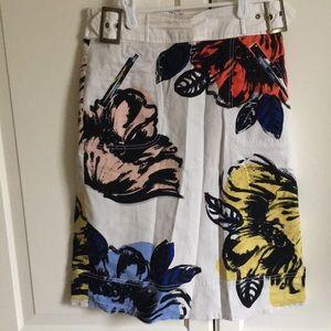 Maeve floral skirt. Size 2